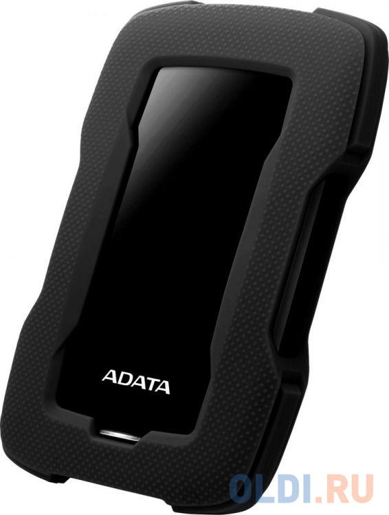 Внешний жесткий диск 2Tb Adata USB 3.0 AHD330-2TU31-CBK HD330 DashDrive Durable 2.5 черный внешний жесткий диск hdd a data usb 3 0 2tb ahd330 2tu31 cbl hd330 dashdrive durable 2 5 синий