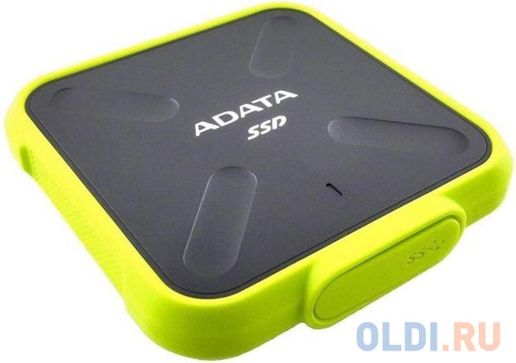Внешний жесткий диск 1Tb SSD Adata ASD700-1TU31-CYL SD700 Series Yellow adata sd700 series 256gb asd700 256gu31 cbk черный