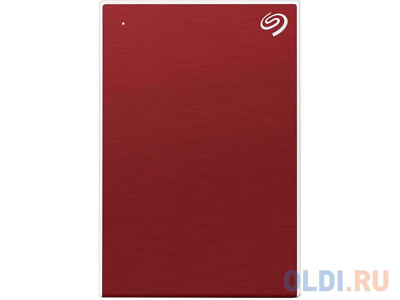 Фото - Внешний жесткий диск 1TB SEAGATE Backup Plus Slim USB3.1 RED STHN1000403 внешний жесткий диск seagate original usb 3 0 1tb sthn1000400 backup plus slim 2 5 черный