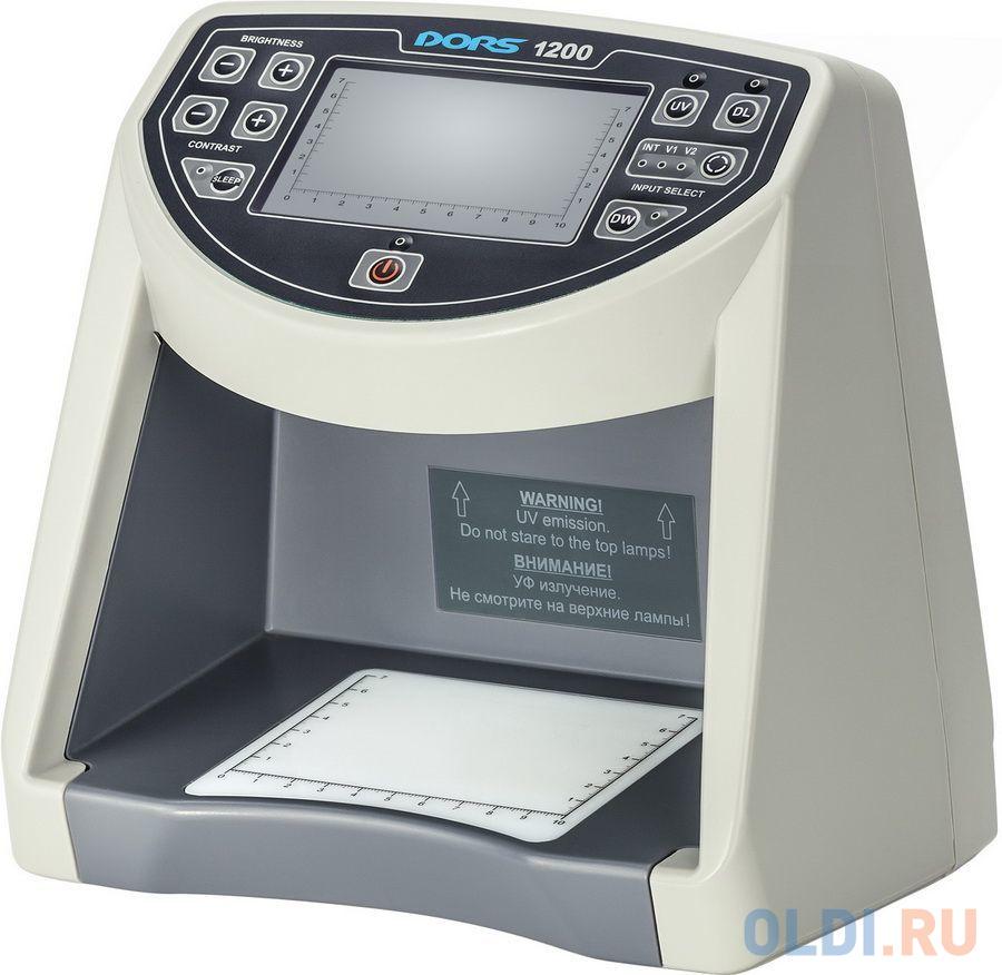 Детектор банкнот Dors 1200 M1 FRZ-024106 просмотровый мультивалюта недорого