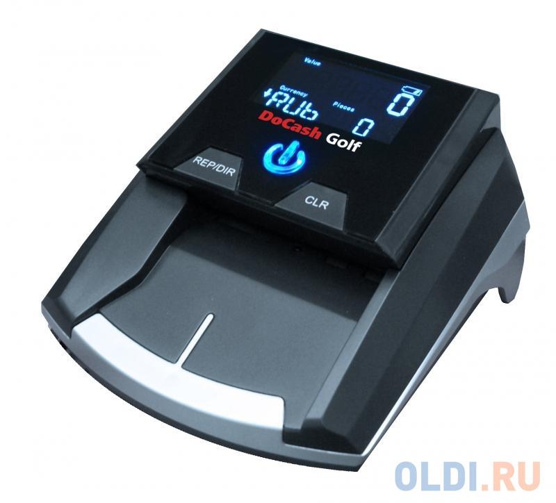 Детектор банкнот DoCash Golf автоматический рубли АКБ