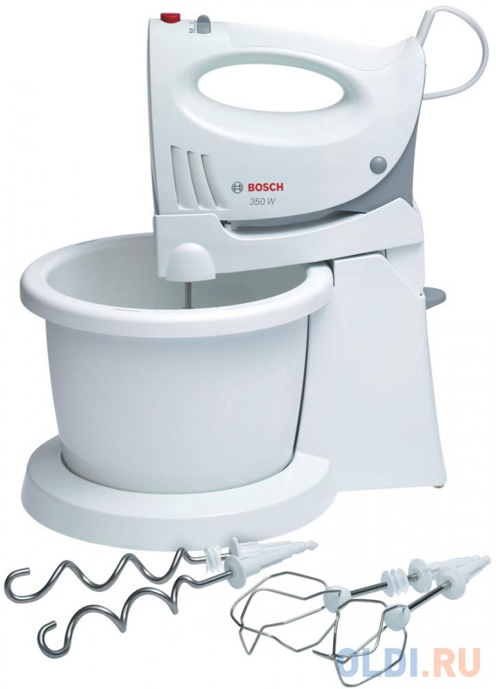 Миксер Bosch MFQ 3555 350Вт белый миксер bosch mfq 4020 белый антрацит