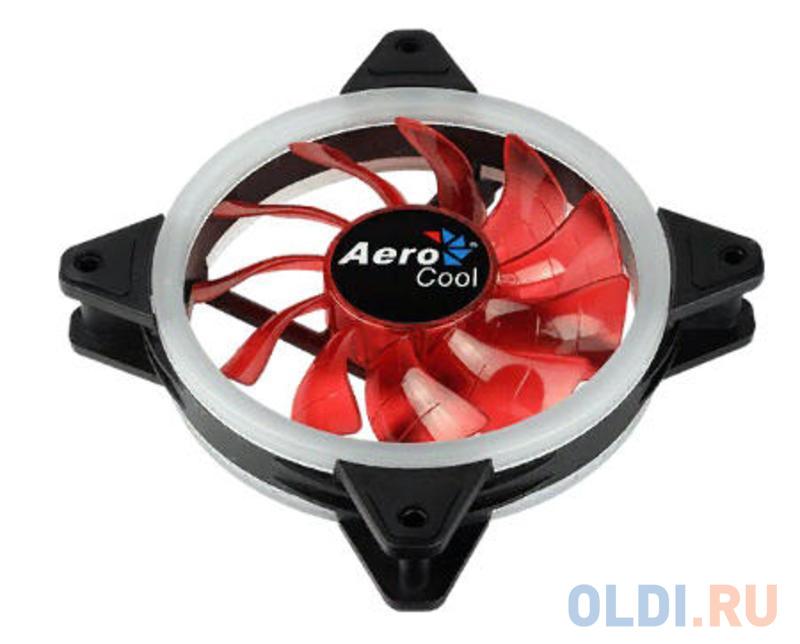 Вентилятор Aerocool Rev Red 120x120mm 3-pin 15dB 153gr LED Ret вентилятор aerocool rev rgb 120мм ret