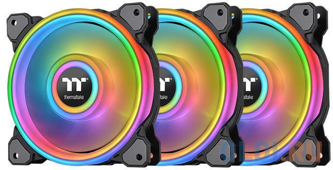 Riing Quad 12 RGB Radiator Fan TT Premium Edition 3 Pack [CL-F088-PL12SW-A] Thermaltake
