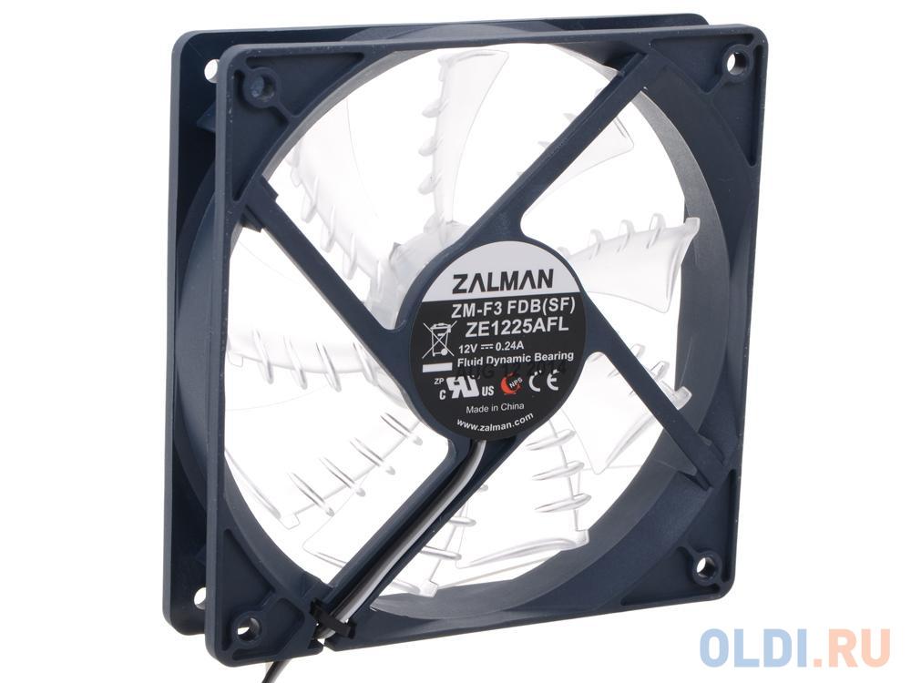 Вентилятор Zalman ZM-F3 FDB (SF) (120мм, сверхтихий) zm f3 sf
