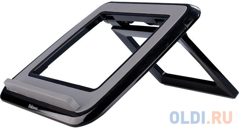 Fellowes® I-Spire Series™, Подставка для ноутбука до 17 с регулировкой высоты, черная, шт