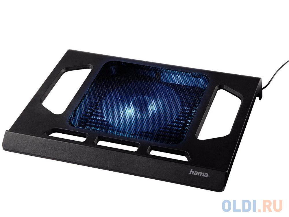 """Подставка для ноутбука 17.3"""" Hama H-53070 Black Edition охлаждающая черный"""