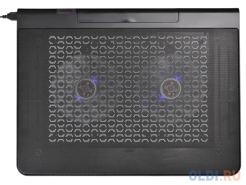 Фото - Подставка для ноутбука 17 Buro BU-LCP170-B214 металл/пластик 1400об/мин 23db черный подставка для ноутбука 15 6 buro bu lcp156 b214 металл пластик 1000об мин 22db черный