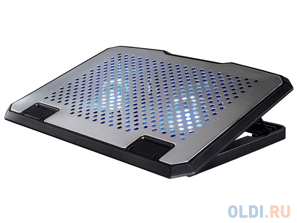 Подставка для ноутбука Hama H-53064 охлаждающая серебристый подставка для ноутбука hama h 53065 черный