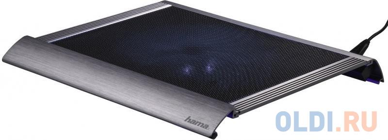 Подставка для ноутбука Hama Business 00053062 охлаждающая черный