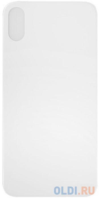 Защитное стекло 3D Partner заднее, белое (9H) для iPhone X ПР038504