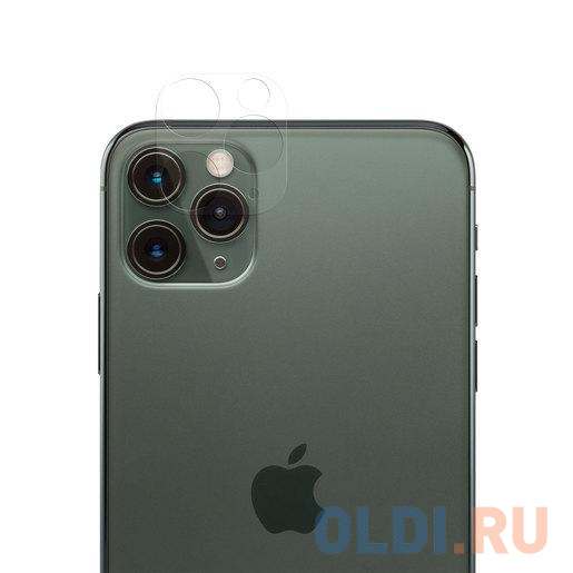 Защитная пленка Moshi AirFoil Camera Protector для камеры iPhone 11 Pro/Pro Max. Материал пластик. Цвет: прозрачный.