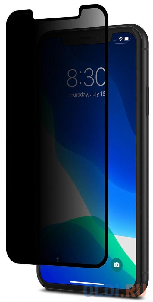 Защитное стекло Moshi IonGlass Privacy для iPhone 11 iPhone XR 99MO115001 черная рамка