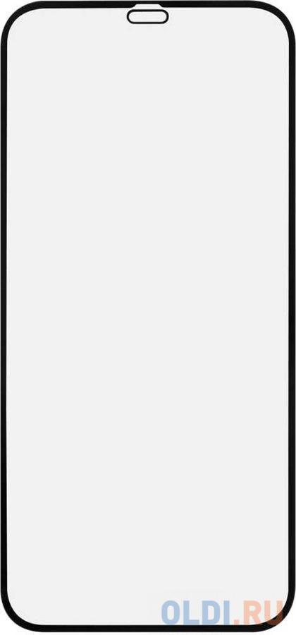 Защитное стекло антибликовая Red Line УТ000021877 для iPhone 12 iPhone 12 Pro черная рамка