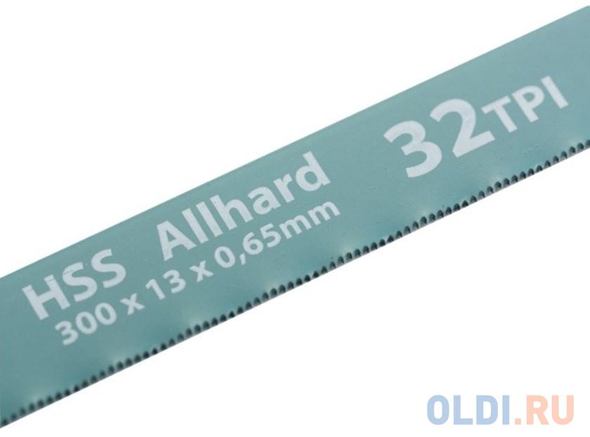 Полотна для ножовки по металлу 300 мм 32TPI HSS 2 шт.// Gross.