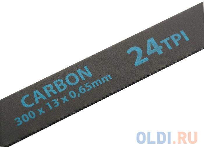 Полотно для ручной ножовки GROSS 77719  по металлу 300мм 24tpi carbon 2шт.