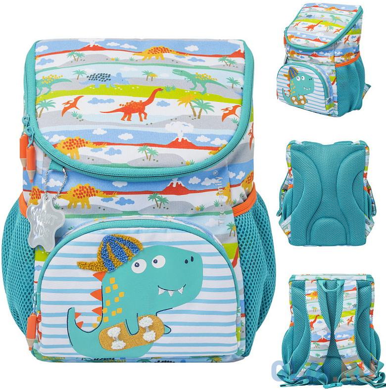 Рюкзак детский LITTLE TRAVELLERS REX BUDDY, разм.31x24x16/29х20х12 см, анатом.спинка д/мальчиков
