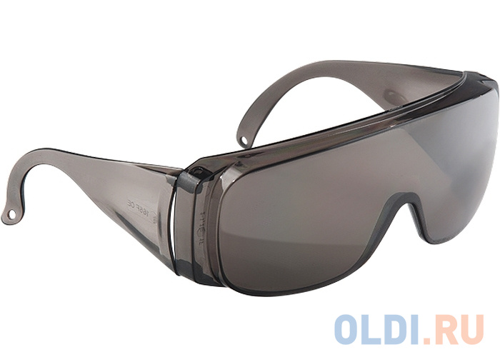 Очки СИБРТЕХ 89156 защитные открытого типа затемненные ударопрочный поликарбонат недорого