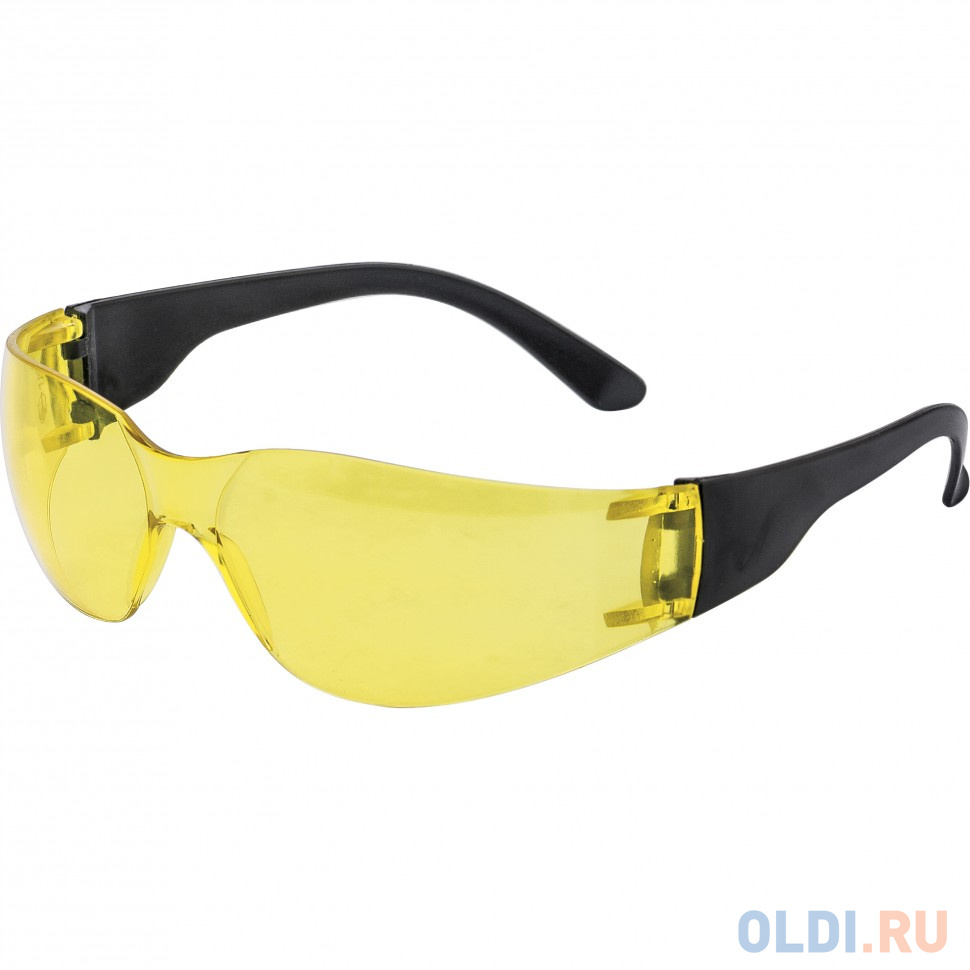 Очки защитные открытые, поликарбонатные, желтые ОЧК202 (0-13022) </div> <div class=