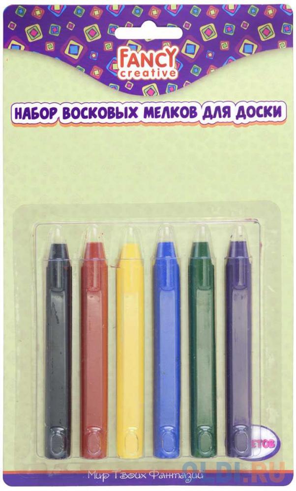 Набор восковых мелков для доски, 9см набор восковых мелков pj masks