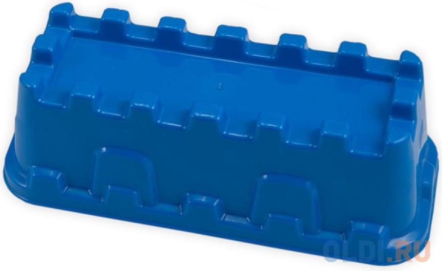 Формочка для песка Spielstabil Крепостная стена, синяя 7428 формочка для песка spielstabil крепостная стена синяя 7428