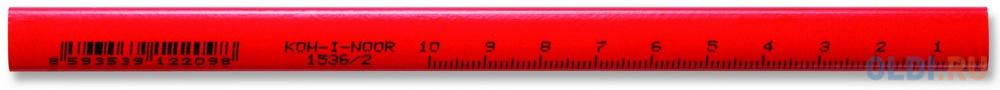 Карандаш графитовый Koh-i-Noor 153600200177 138 мм столярные