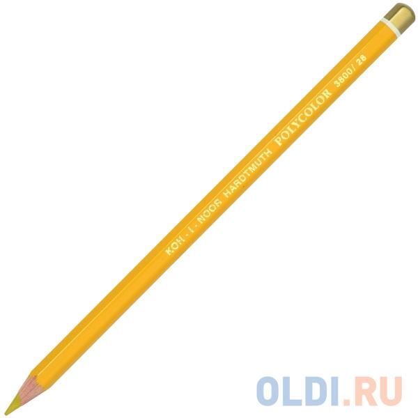 Карандаш художественный POLYCOLOR, золотая охра фото
