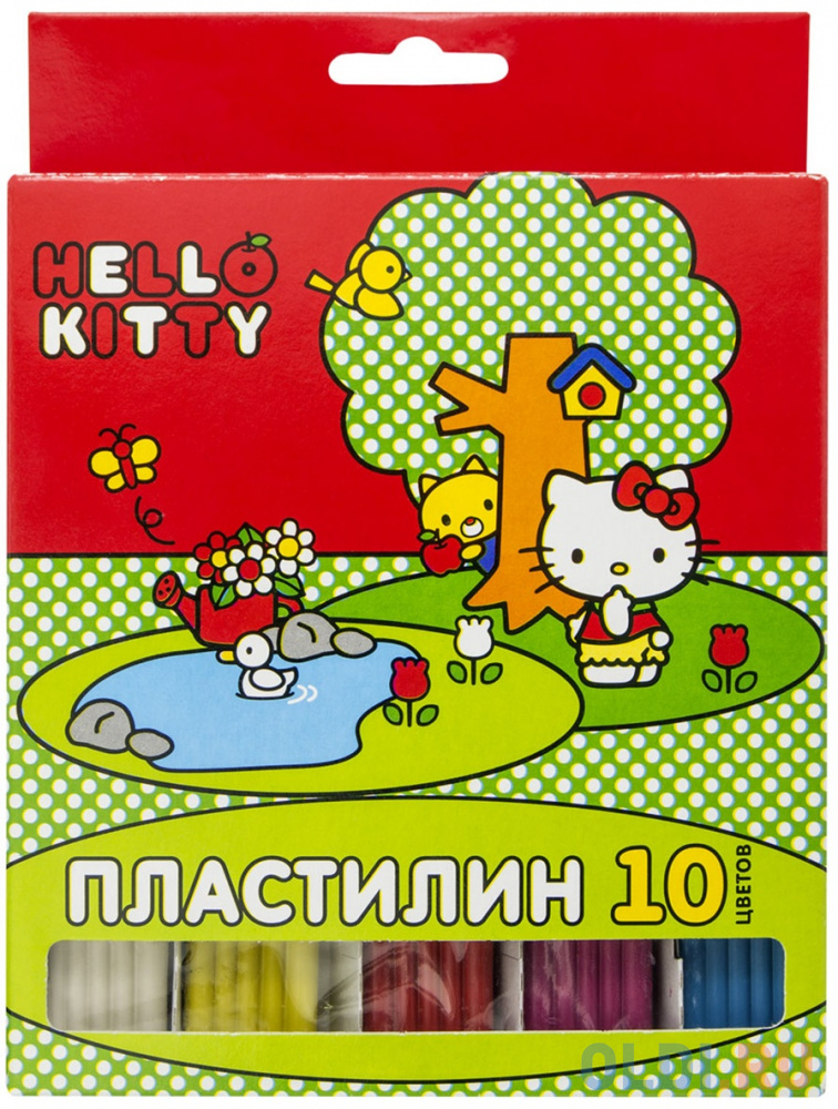 Пластилин Action! Hello Kitty 10 цветов HKO-AMC10-200-2 пластилин action hello kitty 10 цветов hko amc10 200 2