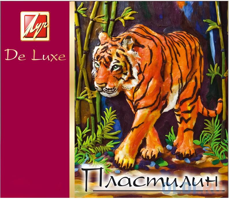 Пластилин Луч ЛЮКС 12 цветов 14С1035-08