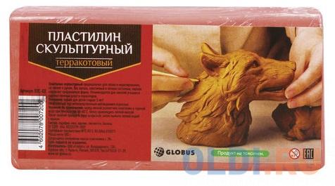 Пластилин Globus скульптурный 1 цвет пластилин globus скульптурный 1 цвет