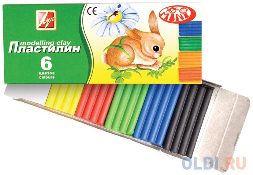 Пластилин Луч ЗОО 6 цветов 19С1271-08