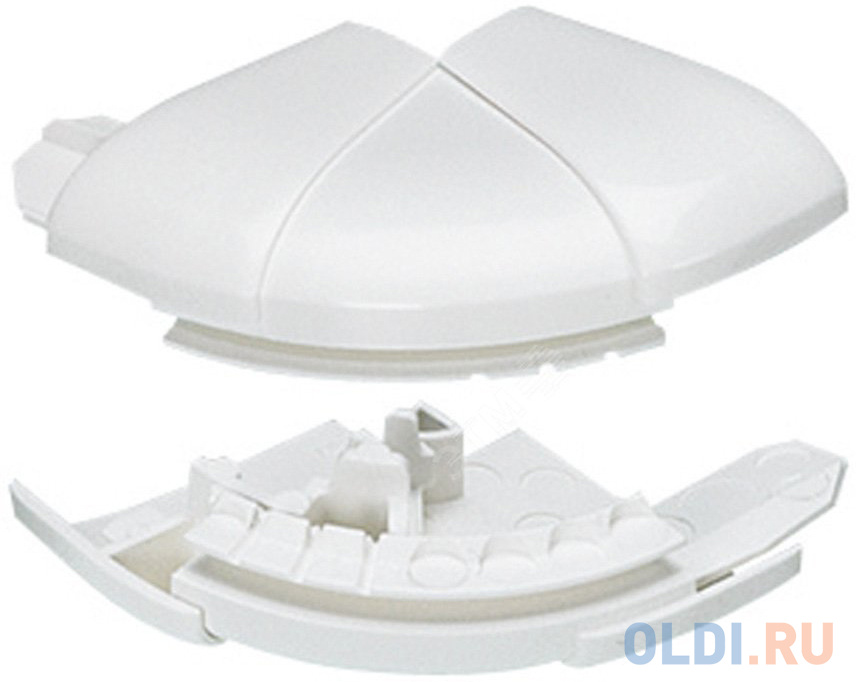 Угол внешний Legrand переменный от 60° до 120°для кабель-каналов DLP 35Х80/105 белый L10621.