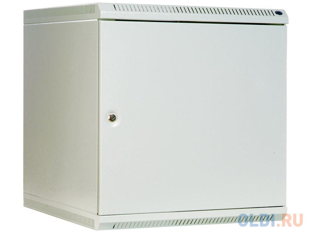 Шкаф настенный разборный 9U ЦМО ШРН-Э-9.500.1 600х520mm дверь металл серый