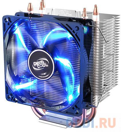 Устройство охлаждения(кулер) Deepcool GAMMAXX 300 FURY Soc-FM2+/AM2+/AM3+/AM4/1150/1151/1155/ 4-pin 18-21dB Al+Cu 130W 435gr LED Ret кулер для процессора deepcool gammaxx 300 fury