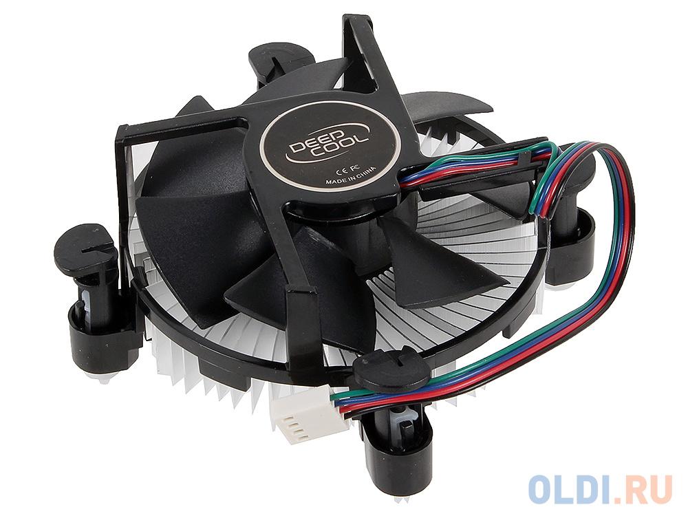 Кулер DeepCool CK-11509 PWM (LGA1150/51/55/56, TDP 65W, вент-р 92мм, 900~2400%RPM, 17.8~30.54dBa) CK-11509.PWM
