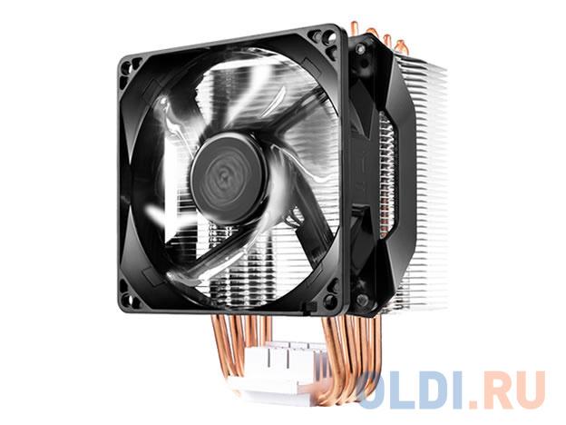 Фото - Кулер для процессора Cooler Master CPU Cooler Hyper H411R, RPM, White LED fan, 100W (up to 120W), Full Socket Support / RR-H411-20PW-R1 / кулер для процессора cooler master hyper 212 spectrum rr 212a 20pd r1