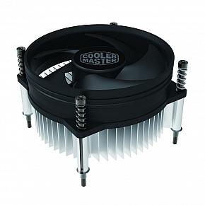 Кулер Cooler Master CPU Cooler I30 PWM, Intel 115*, 65W, Al, 4pin / RH-I30-26PK-R1 / cooler master cpu cooler rh a30 25fk r1 socket amd 65w al 3pin