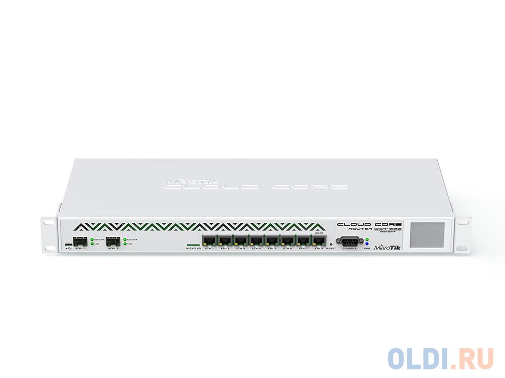 Фото - Маршрутизатор MikroTik CCR1036-8G-2S+EM Cloud Core Router 1036-8G-2S+EM with Tilera Tile-Gx36 CPU (36-cores, 1.2Ghz per core), 8GB RAM, 2xSFP+ cage, 8 ccr1036 8g 2s em r2 cloud core router 1036 8g 2s em with tilera tile gx36 cpu 36 cores 1 2ghz per core 16gb ram 2xsfp cage 8xgbit lan routeros l6 1u rackmount case dual psu lcd panel