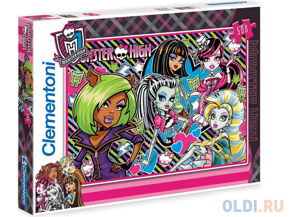 Пазл 500 элементов Monster High Совершенно несовершенны 30385 пазл 180 элементов monster high специальная коллекция 7310