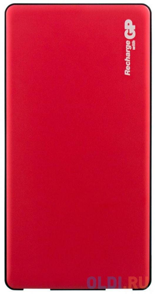 Внешний аккумулятор Power Bank 5000 мАч GP MP05 красный