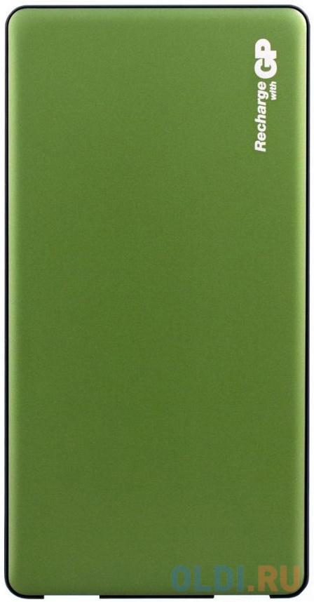 Внешний аккумулятор Power Bank 5000 мАч GP MP05MAG зеленый внешний аккумулятор harthill 5000 мач