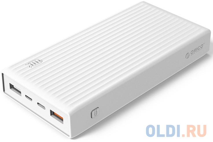 Аккумуляторное зарядное устройство Orico K20000 (белый)