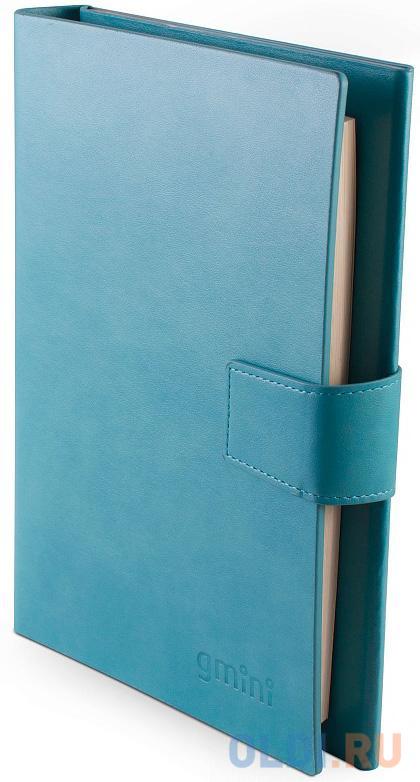 Фото - Внешний аккумулятор Gmini Ежедневник GM-PB-90NP, Blue, 9000mAh, Вх.: 5В2А, вых.: 5В2.1А и 5В1А, зап. книга 80 стр., размер: 23,5 х 16 х 2.2 см внешний аккумулятор 3cott 3c pb 052ss storm series емкость 5200 мач вх 5в1а вых 5в1а прорезиненное покрытие черный серый