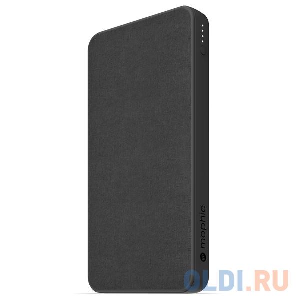 Внешний портативный аккумулятор Mophie Charge Stream Powerstation Wireless XL 10K. Емкость 10000 МаЧ. Цвет: черный..