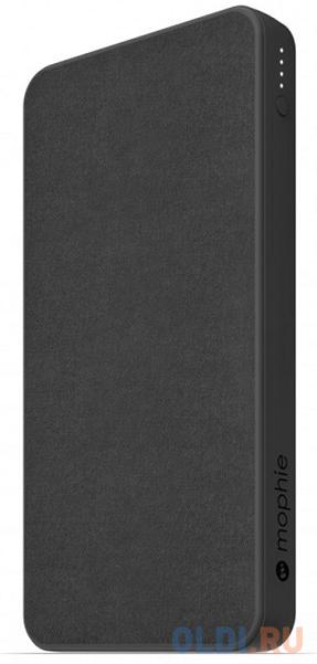 Внешний портативный аккумулятор Mophie PowerStation 2019. Емкость 10000 мАч. Цвет черный..