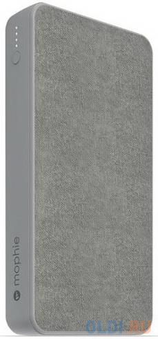 Внешний портативный аккумулятор Mophie Powerstation 15K. Емкость 15000 мАч. Цвет серый..