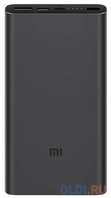 Внешний аккумулятор Power Bank 10000 мАч Xiaomi PLM12ZM черный внешний аккумулятор power bank interstep is ak pst150pdc blkb201 40000мaч черный [65362]