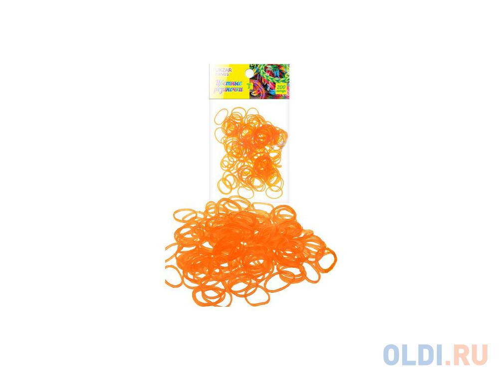 набор для плетения tukzar tz 12906 200 шт оранжевый Набор для плетения TUKZAR TZ 12906 200 шт оранжевый