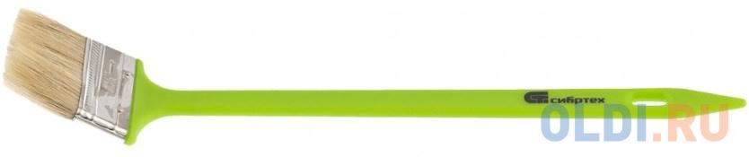Кисть радиаторная 63 мм, натуральная щетина, пластиковая ручка// Сибртех недорого