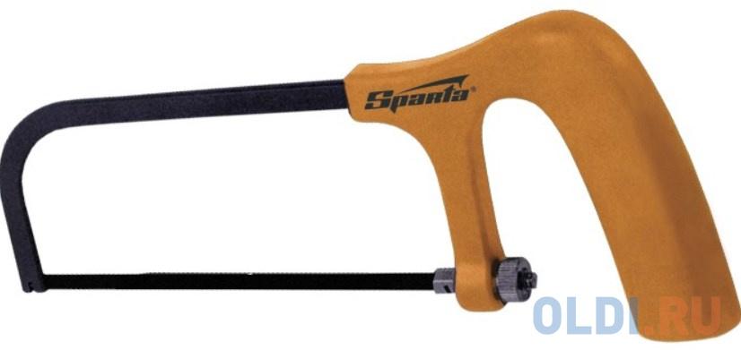 Ножовка по металлу, 150 мм, пластмассовая ручка// Sparta ножовка по металлу sparta 775765 300 мм